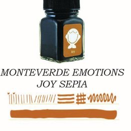 Monteverde Monteverde Joy Sepia - 30ml Emotions Bottled Ink