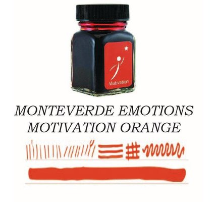 Monteverde Monteverde Motivation Orange - 30ml Emotions Bottled Ink