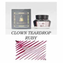 Sailor Sailor Bungubox Clown Teardrop Ruby - 50ml Bottled Ink