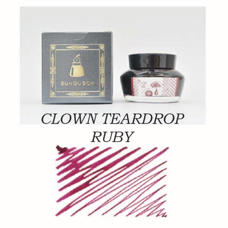 Sailor Sailor Bungubox Clown Teardrop Ruby - 50ml Bottled Ink
