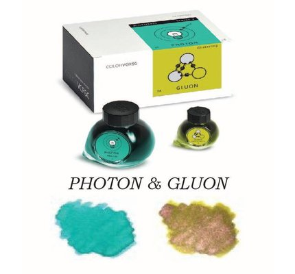 Colorverse Colorverse No. 23 & 24 Photon & Gluon - 65ml + 15ml Bottled Ink