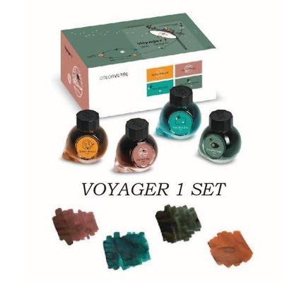 Colorverse Colorverse Limited Edition Voyager 1 Set - 4 15ml Bottled Inks
