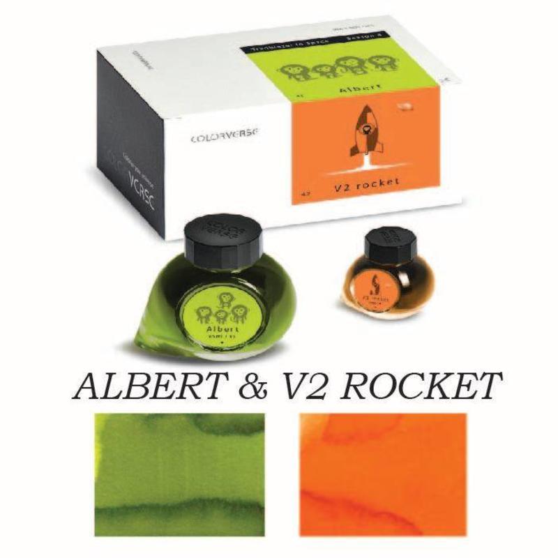Colorverse Colorverse No. 41 & 42 Albert & V-2 Rocket - 65ml + 15ml Bottled Ink