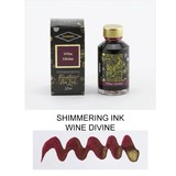 Diamine Diamine Shimmering Wine Divine (Gold) - 50ml Bottled Ink