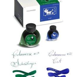 Colorverse Colorverse No. 21 & 22 Schrodinger & Cat - 65ml + 15ml Bottled Ink
