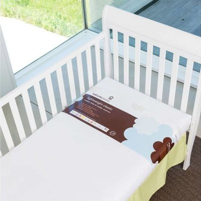 NATUREPEDIC Organic Lightweight Classic Crib Mattress