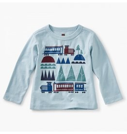 TEA COLLECTION Tea Train Trek Graphic Tee