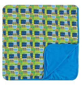 KICKEE PANTS Amazon Houses Toddler Blanket
