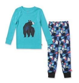 ZUTANO Bear Organic Cotton PJ Set