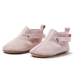 ZUTANO Pink Suede Baby Shoe