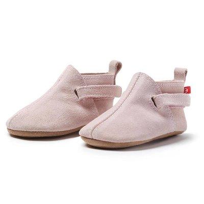 ZUTANO Zutano Pink Suede Baby Shoe
