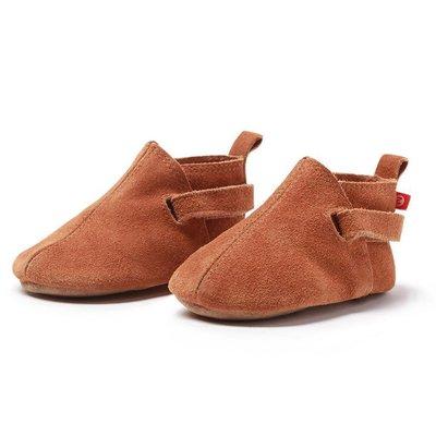 ZUTANO Tan Suede Baby Shoe