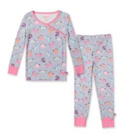 ZUTANO Unicorns Organic Cotton PJ Set