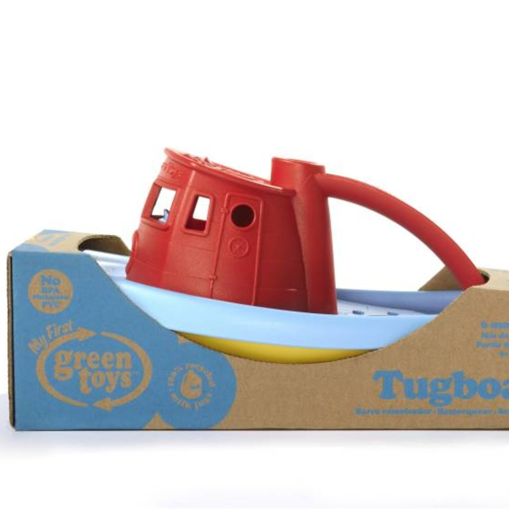 GREEN TOYS Tugboat