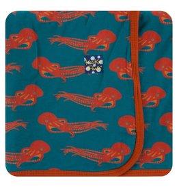 KICKEE PANTS Oasis Octopus Swaddling Blanket