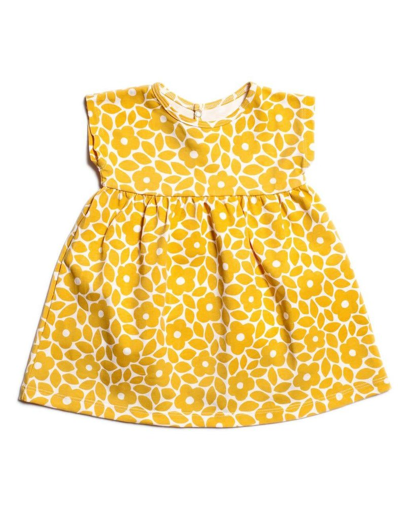 WINTER WATER FACTORY Merano Baby Dress - Marrakesh Floral Yellow