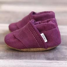 TBMS Deep Purple Felt Loafers