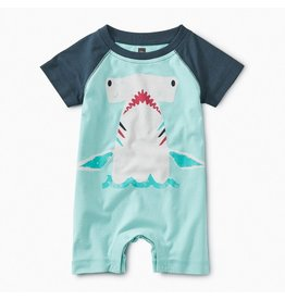TEA COLLECTION Tea Hammerhead Raglan Romper