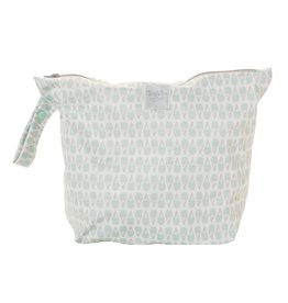 GROVIA GroVia Zippered Wet Bag - Soft Mint Ice Cream