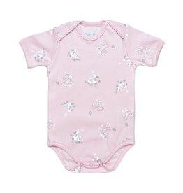 UNDER THE NILE Cottontail Bunny S/S Lap Shoulder Bodysuit