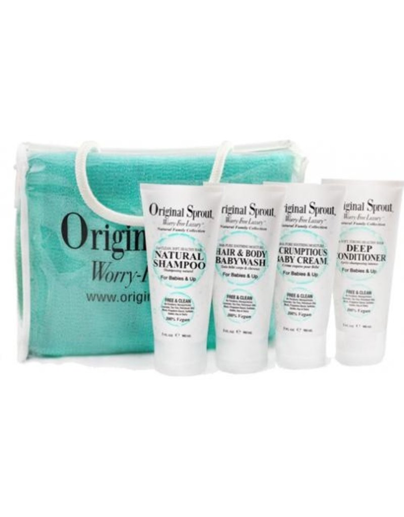 ORIGINAL SPROUT Travel Combo w/ Washcloth