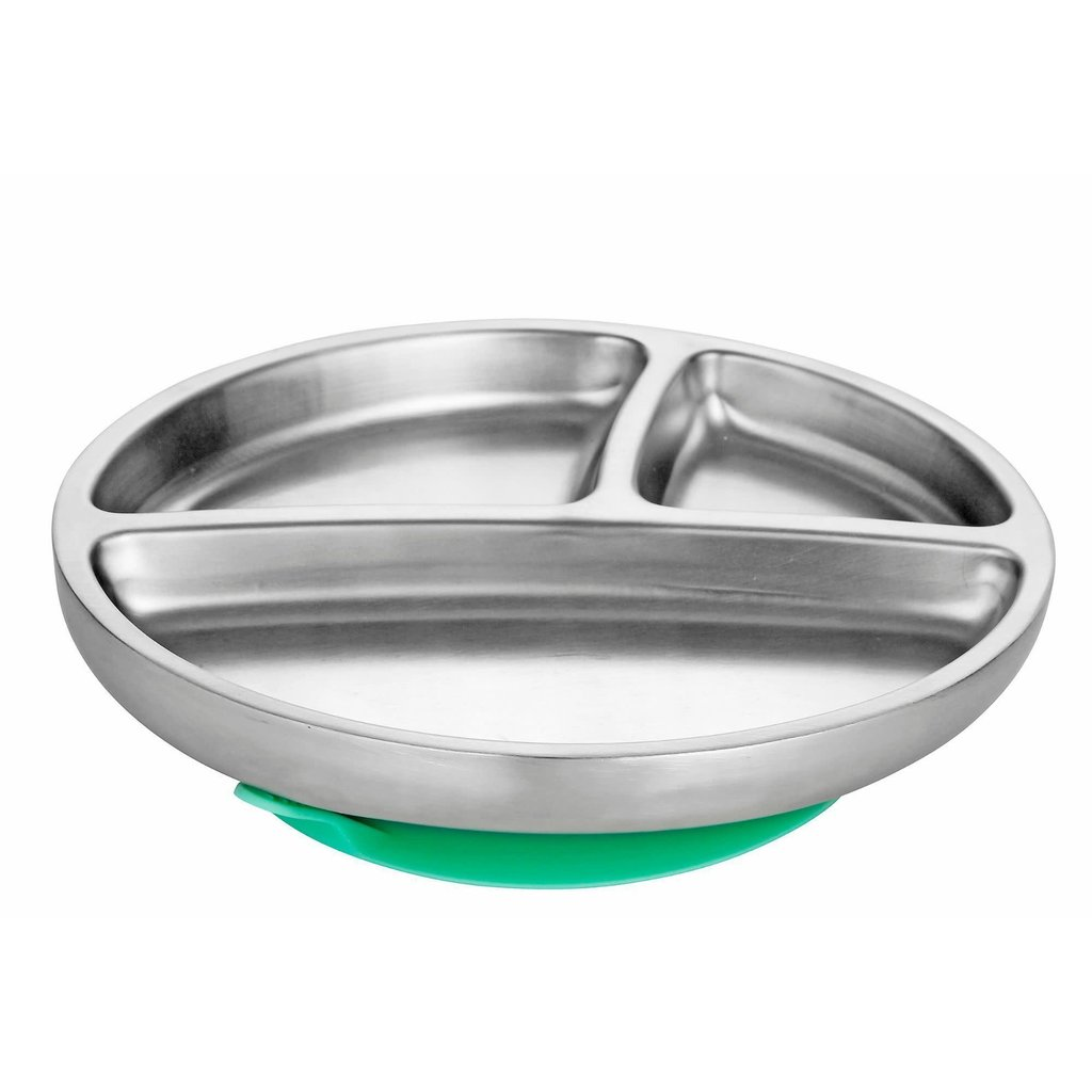 AVANCHY Avanchy Stainless Steel Suction Toddler Plate