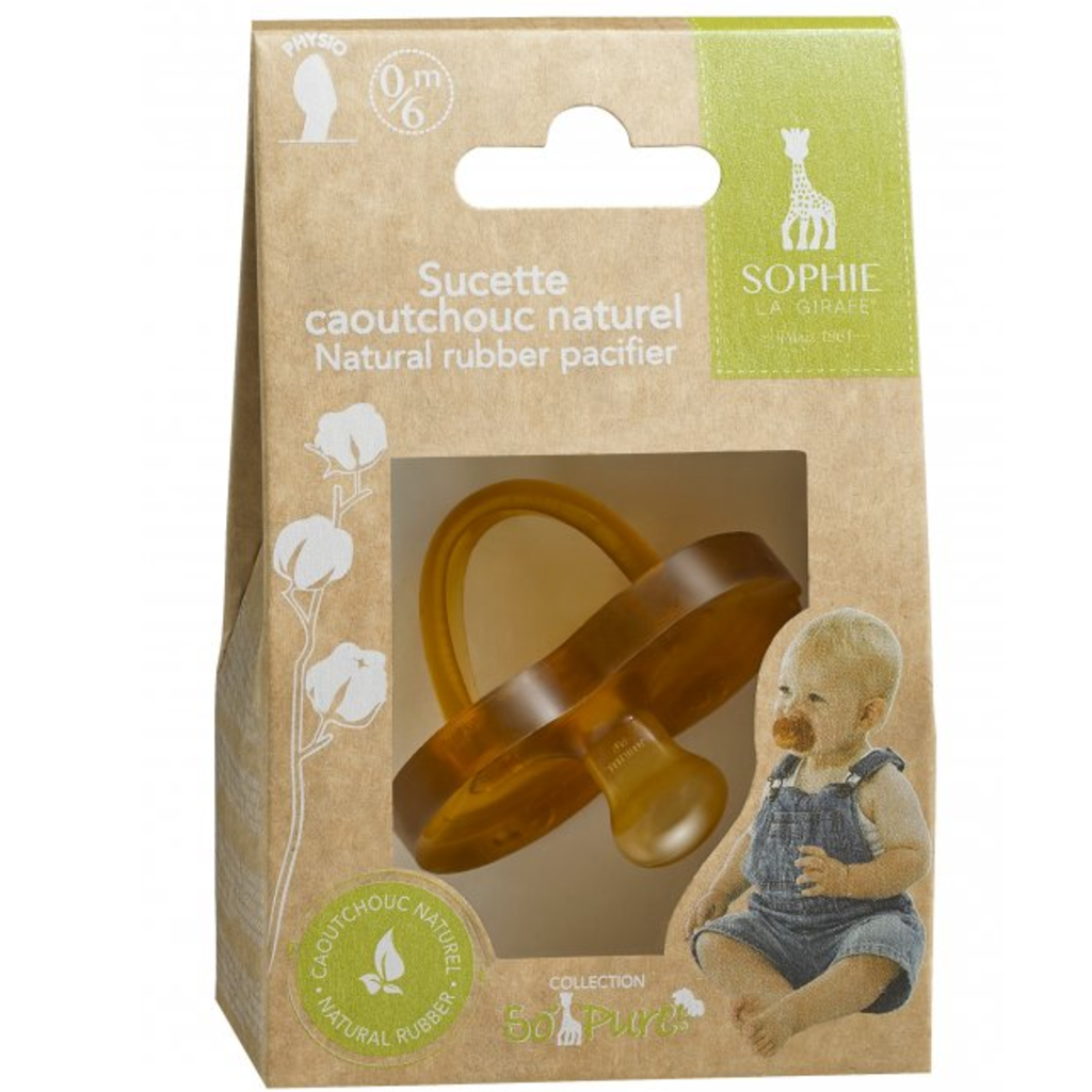 VULLI Sophie Natural Rubber Pacifier