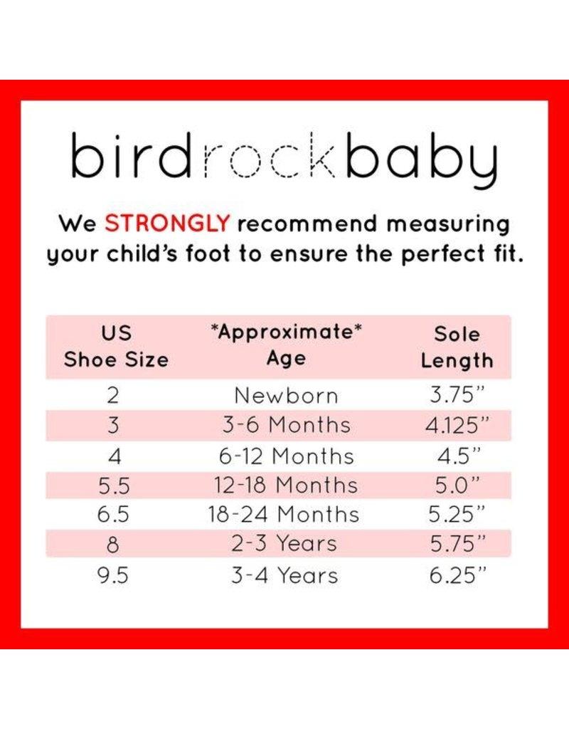BIRDROCK BABY Lavender Leather Baby Moccasins