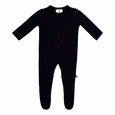 KYTE BABY Kyte Baby Solid Footie Midnight