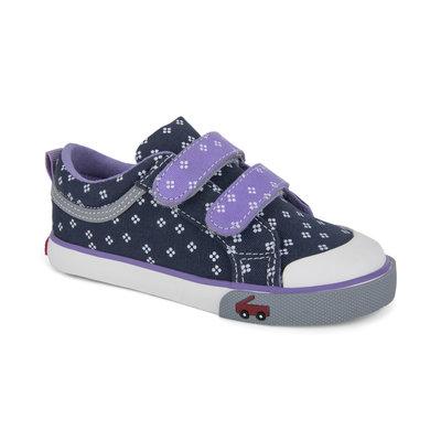 SEE KAI RUN Robyne Sneaker - Navy/Purple