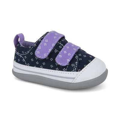SEE KAI RUN Robyne Infant Navy/Purple
