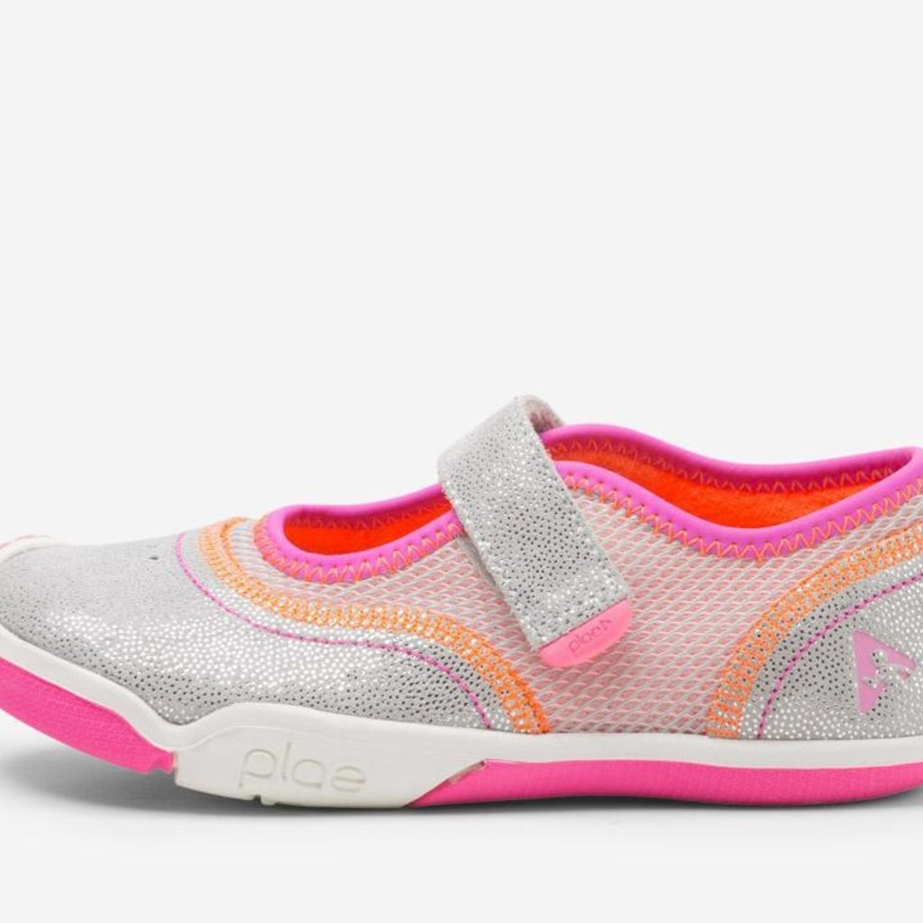 PLAE Emme Silver/Pink Shoe