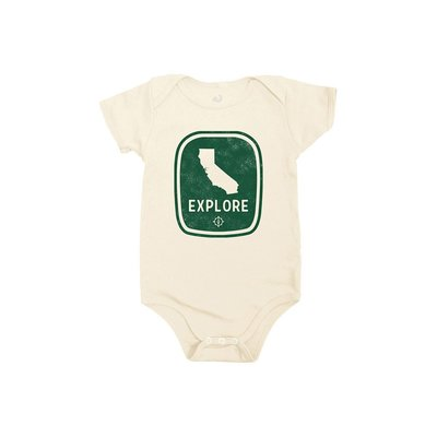 LOCALLY GROWN CLOTHING CO. Locally Grown California Explore Onesie