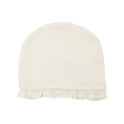 L'OVED BABY L'oved Baby Organic Lace Ruffle Cap