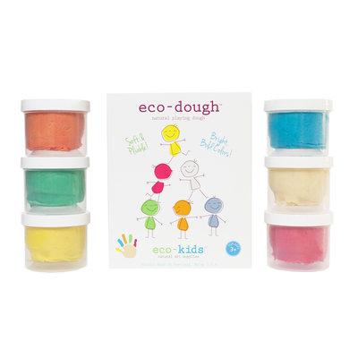 ECO-KIDS Eco-Kids Eco-Dough 6 pack
