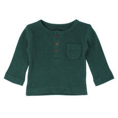 L'OVED BABY L'oved Baby Organic Thermal Kids' Long Sleeve Shirt