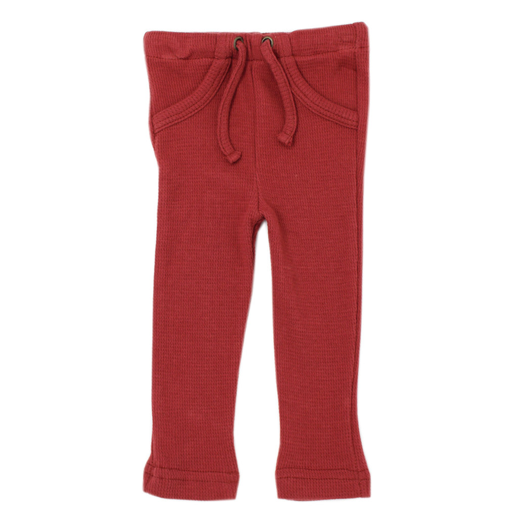 L'OVED BABY L'oved Baby Organic Thermal Drawstring Pants