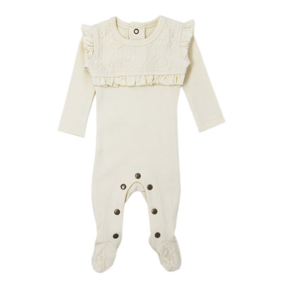 L'OVED BABY L'oved Baby Organic Lace Overall