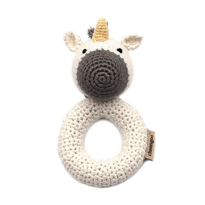 CHEENGOO Unicorn Ring Rattle