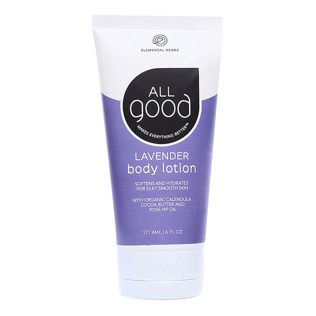 ELEMENTAL HERBS All Good Lavender Body Lotion