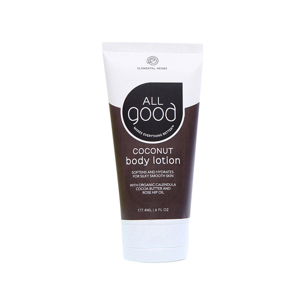 ELEMENTAL HERBS All Good Coconut Body Lotion