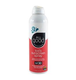 ELEMENTAL HERBS All Good SPF 30 Kids Sunscreen Spray 6oz.