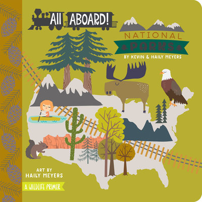 BABYLIT BabyLit All Aboard National Parks