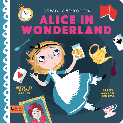 BABYLIT BabyLit Storybook Alice in Wonderland