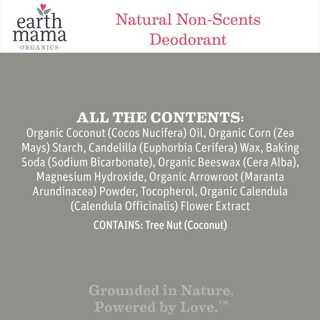 EARTH MAMA ORGANICS Earth Mama Organics Deodorant Natural Non-Scent