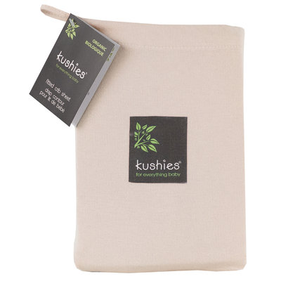 KUSHIES Kushies Organic Jersey Fitted Crib Sheet