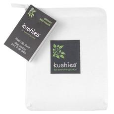 KUSHIES Kushies Organic Jersey Fitted Crib Sheet