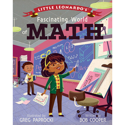 BABYLIT Little Leonardo's Fascinating World of Math