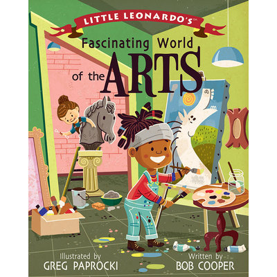 BABYLIT Little Leonardo's Fascinating World of the Arts