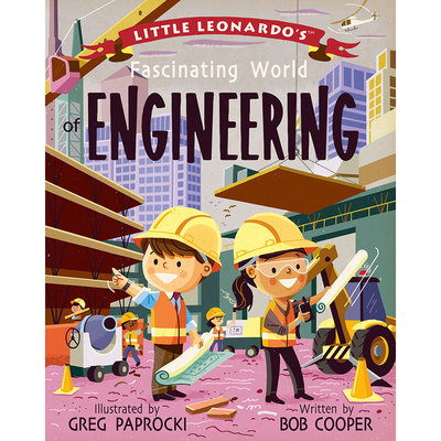 BABYLIT Little Leonardo's Fascinating World of Engineering